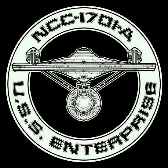 Star Trek: USS Enterprise NCC-1701-A Logo