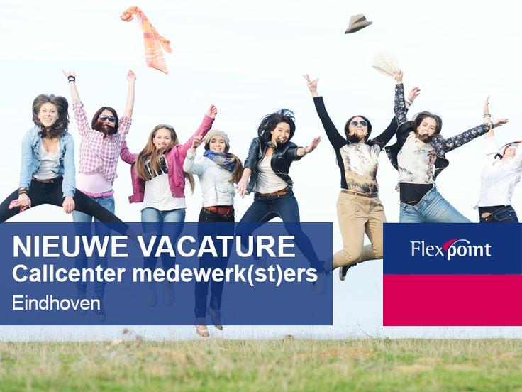 Kijk voor meer info op http://www.flexpoint.nl/vacature/callcenter-medewerker-outbound/1178/2/