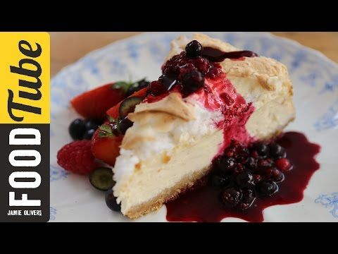 ▶ Jamie Oliver's 4th July NYC Cheesecake - YouTube