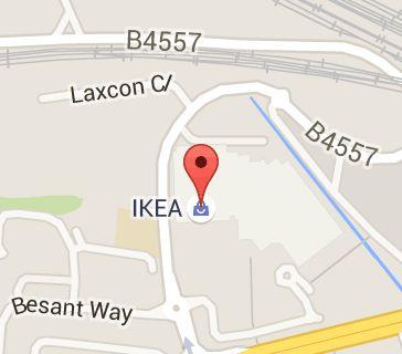 Map of IKEA