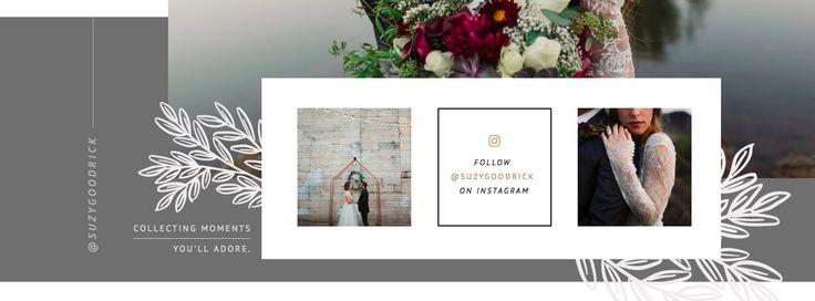 Suzy Goodrick | Website Instagram Feed Design