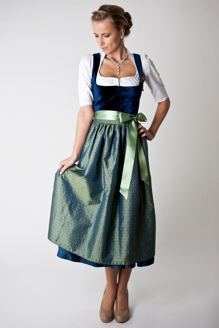 1000+ images about Dirndl on Pinterest | Bayern, Silk and ...