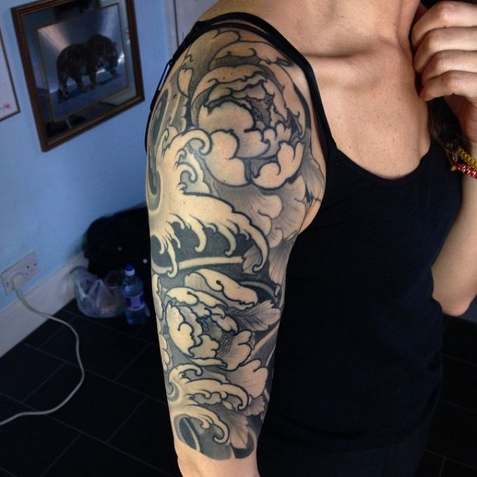 28 best lotus and pocket watch images on pinterest for Garden tattoos designs