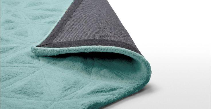 Tappeto Tekari 120 x 170cm, verde acqua pallido | made.com
