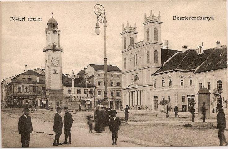 The main square of Banska Bystrica.