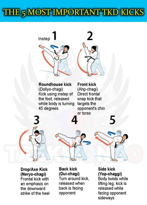 With these basic kicks you can win a fight easily. With more advanced kicks your opponent won't stand a chance...unless of course they know how to do them too