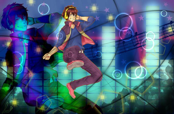 Hamatora Nice- Music is love, Music is life by RubiSafaia.deviantart.com on @DeviantArt