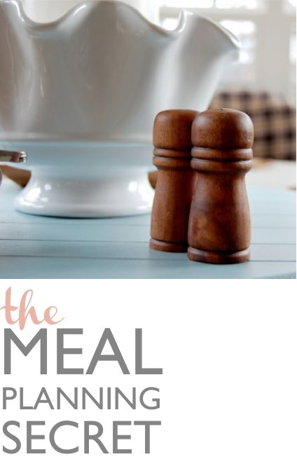 Imperfect, Flexible, Doable Meal Blueprint