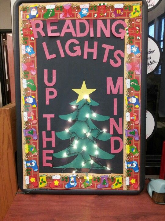 Christmas Ideas For School Libraries : Seasonal slogans for bulletin boards and displays