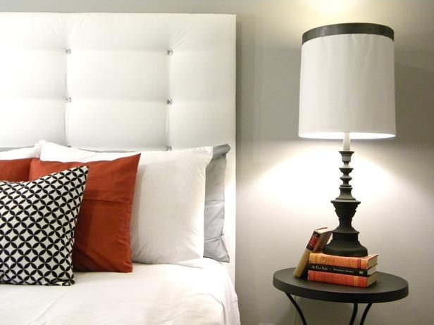 Bedrooms on a Budget: Our 24 Favorites From Rate My Space : Rooms : Home & Garden Television: Headboards Ideas, Tufted Headboards, Head Boards, Diy Headboards, Diy Tufted, Upholstered Headboards, Guest Rooms, Bedrooms Ideas, Diy Projects