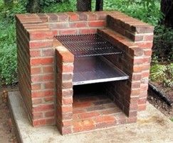 238 Free Do It Yourself Backyard Project Plans: Projects Plans, Brick Bbq, Backyard Projects, Outdoor Oven, Dogs House, Bbq Grilled, Brick Ovens, Brick Grilled, Fire Pit