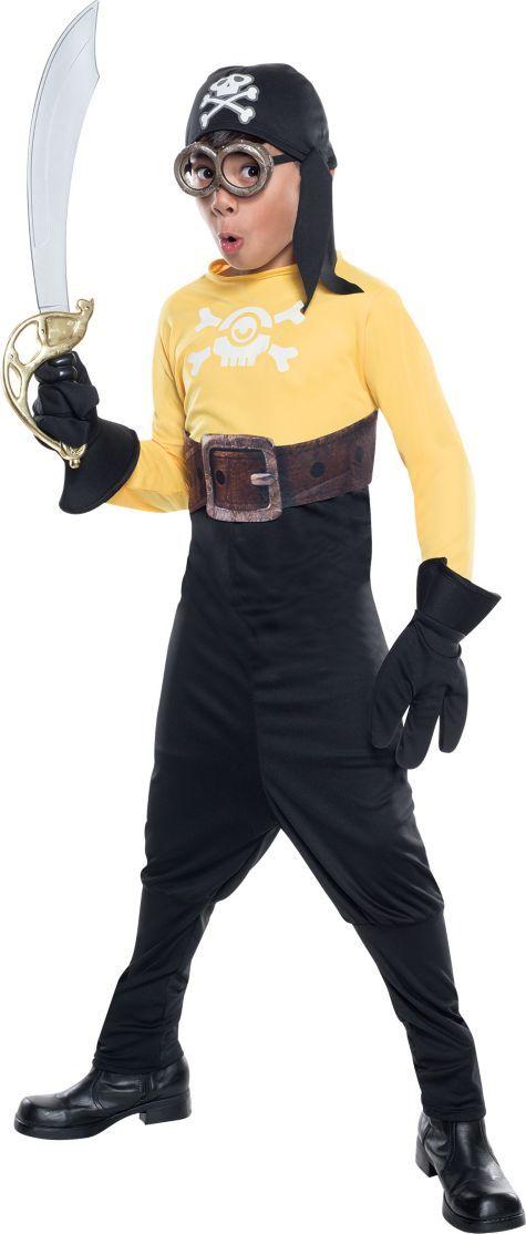 Boys Pirate Minion Costume - Minions - Party City