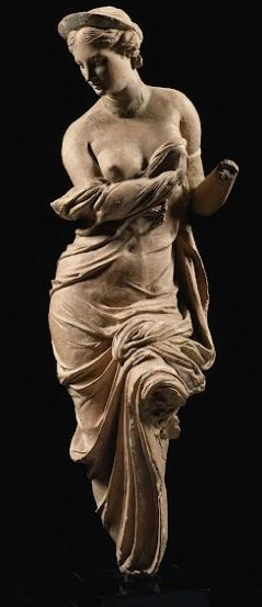 Statuette of Aphrodite (known as Aphrodite Heyl) Statue clothed, moved  2nd century BC. Origin: Asia Minor (Turkey)