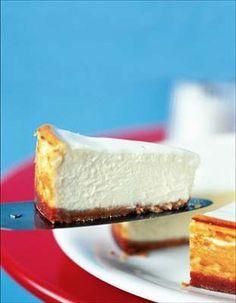 Citronový cheesecake