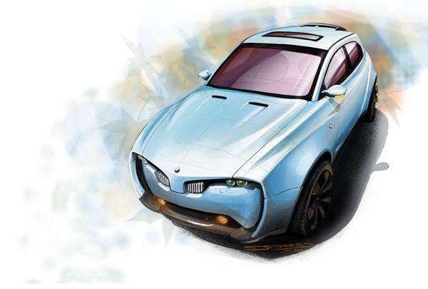Dave Torres  BMW X-7 Concept on Behance