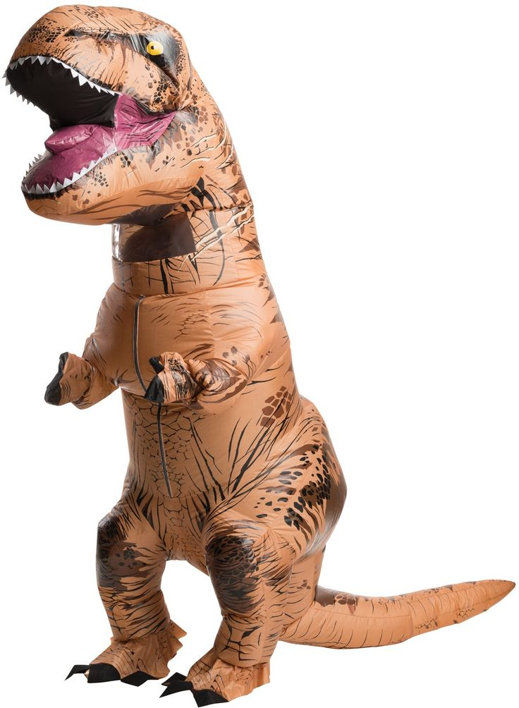 Jurassic World: Adult Inflatable T-Rex Costume The king of the dinosaurs is ready to party all night long! http://www.buycostumes.com/p/808128/jurassic-world-adult-inflatable-t-rex-costume#utm_sguid=166205,76a3c558-7f76-faed-0e97-2ec20b03333e