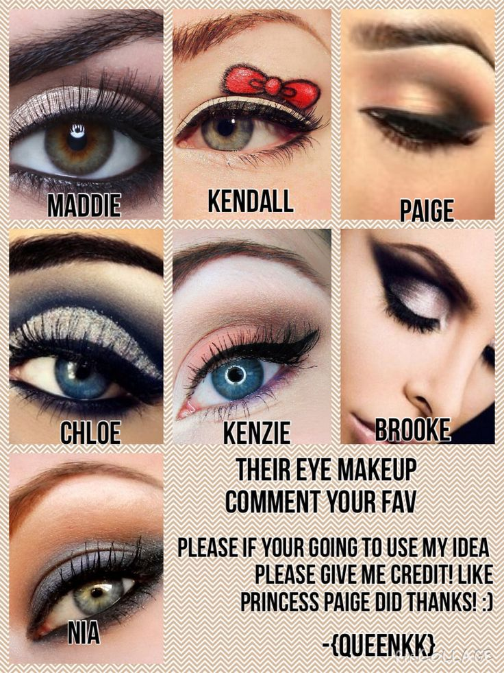 I know this is Dance Mom's related but maybe you can get inspiration for eye makeup! Credit: QueenKK