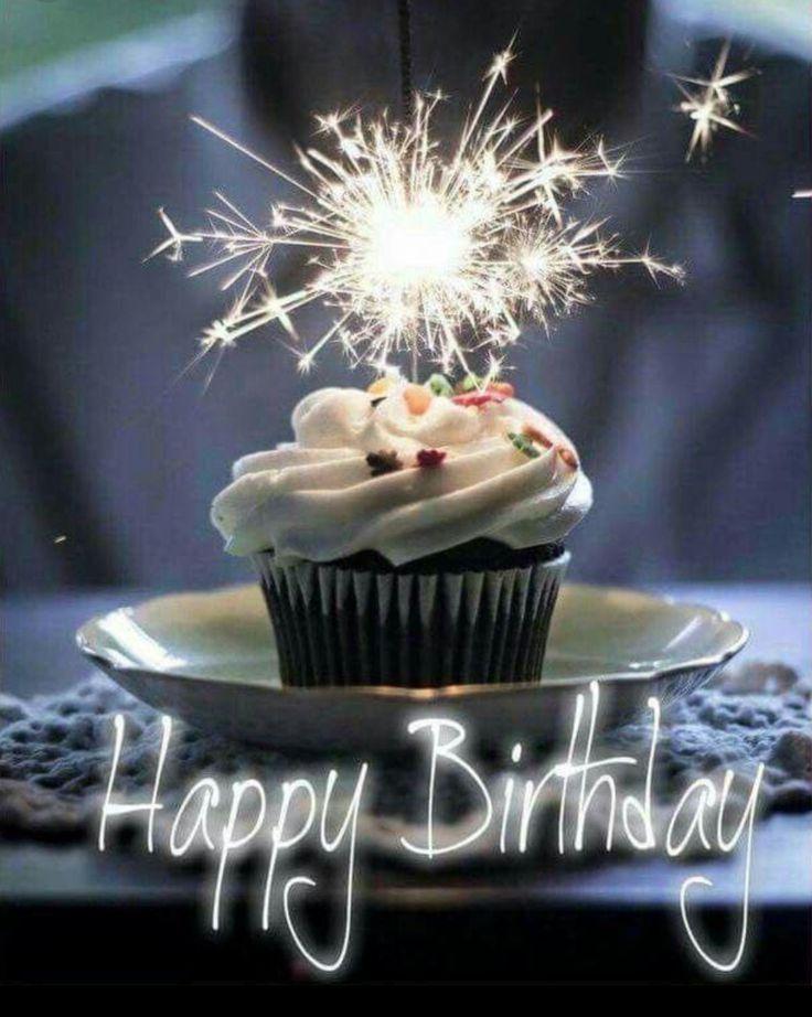 Birthday Quotes : Happy birthday cupcake
