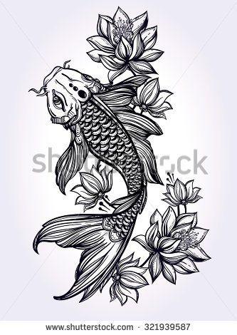 Best 25 Koi Fish Tattoo Ideas On Pinterest