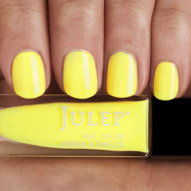 24 best Had Me At Yellow images on Pinterest | Nail polish, Nail ...