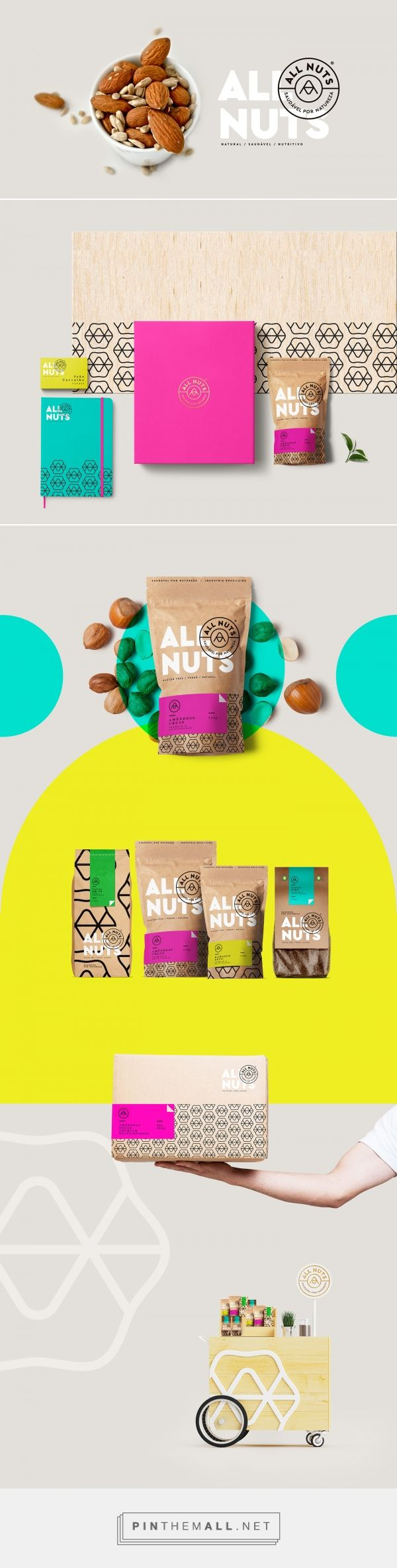 All Nuts Branding and Packaging by Sweety & Co.