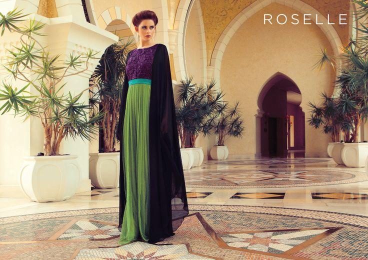 roselle abaya
