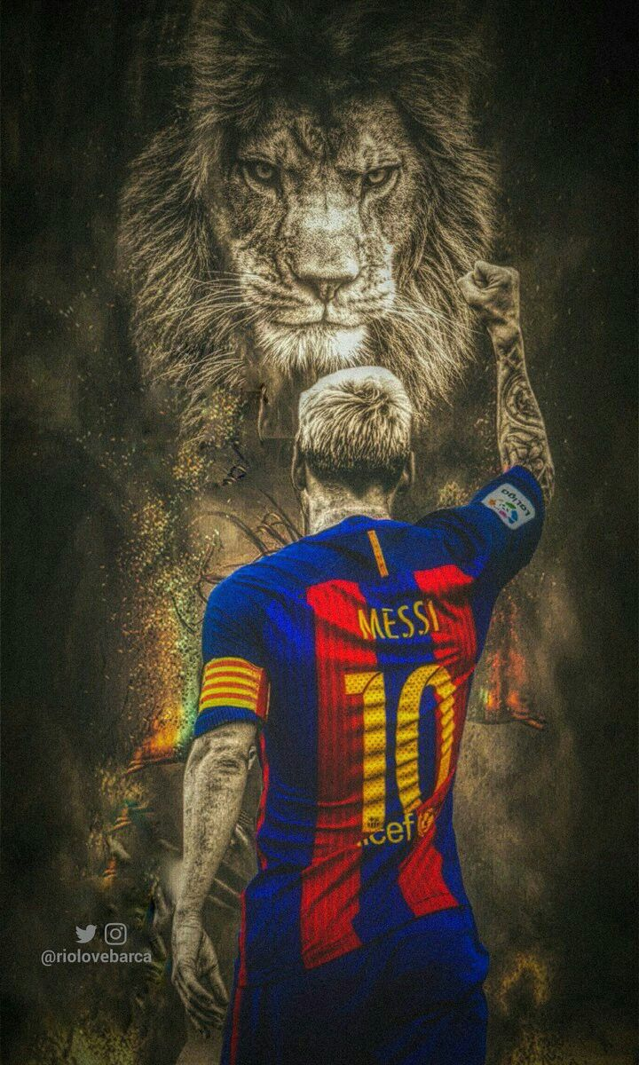 Leo Messi                                The Lion