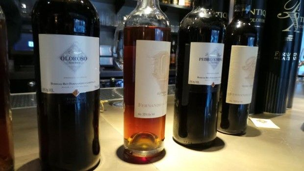 Higher Education: A Day of Sherry at a.bar