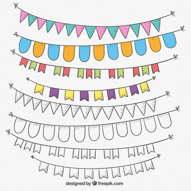 Free Bunting Vector