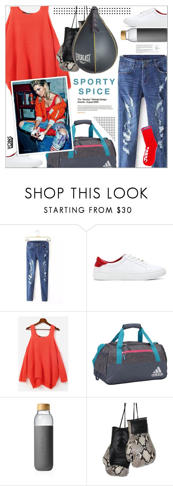 """""""Yoins 3.30"""" by monazor ❤ liked on Polyvore featuring adidas, Soma, Elisabeth Weinstock, Everlast, yoins, yoinscollection and loveyoins"""