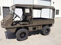 Lot# 1004 A 1969 Steyr / Puch Haflinger military vehicle