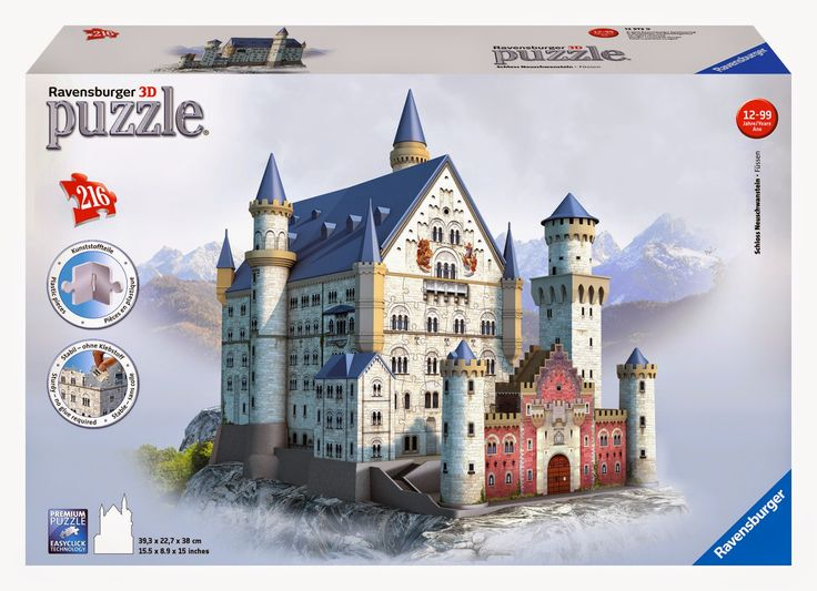 Mother S Day Gift Idea Ravensburger S Neuschwanstein Castle 3d Puzzle Giveaway Jigsaw Puzzles For Kids Ravensburger 3d Jigsaw Puzzles