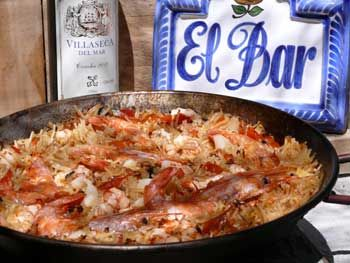 Lots of Spanish recipes, including for tapas! I love Tapas food!!!!