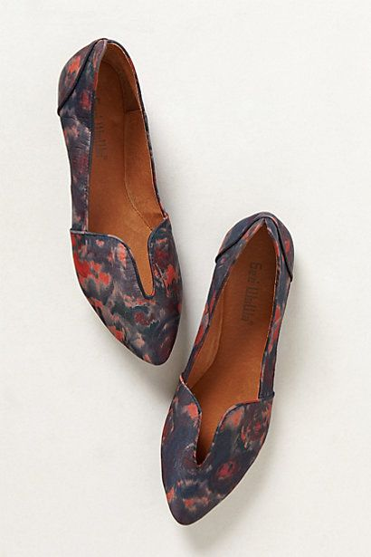 abstract cut out loafers via anthropologie