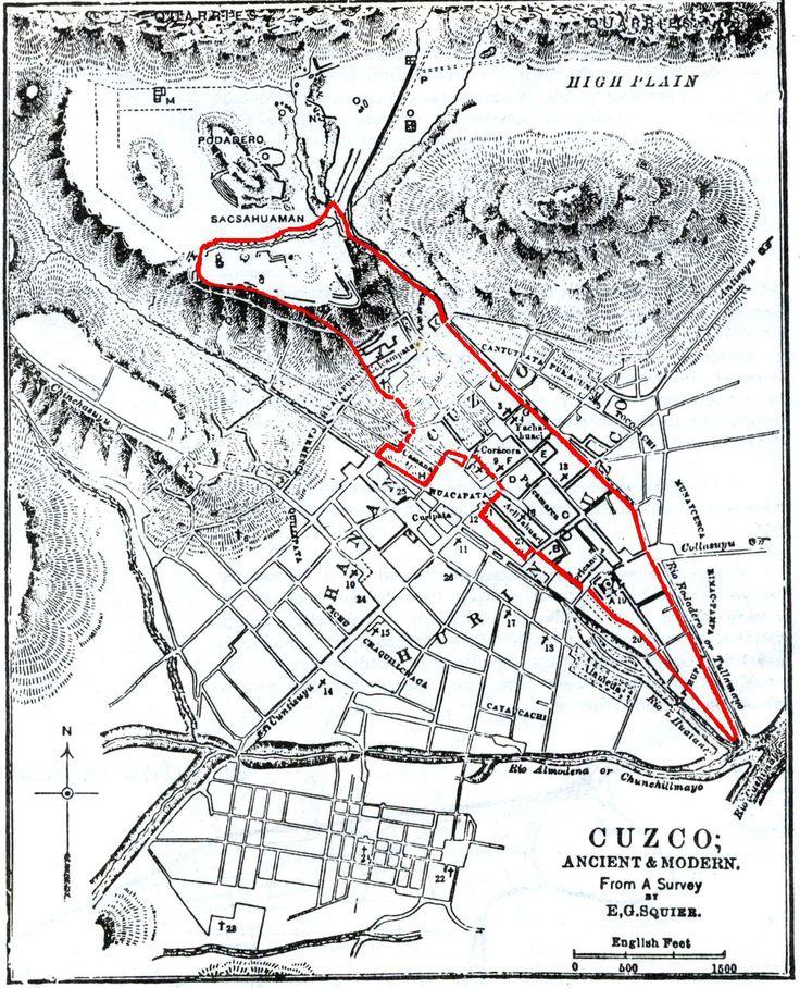 "Cuzo (""le nombril"") : la capitale de l'Empire inca prend la forme symbolique d'un puma"