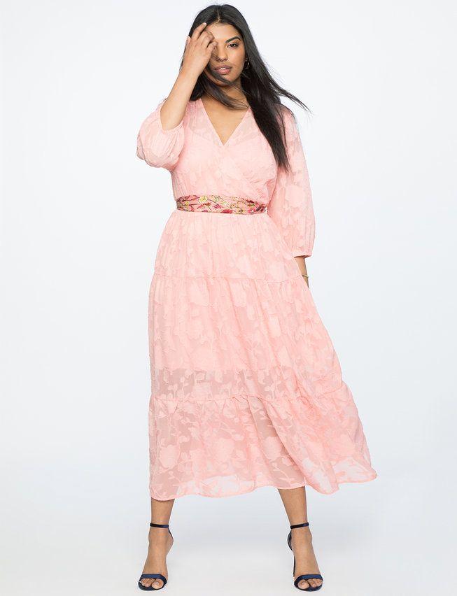 7d459acde11 View our Burnout Chiffon Maxi Dress and shop our selection of designer  women s plus size Dresses