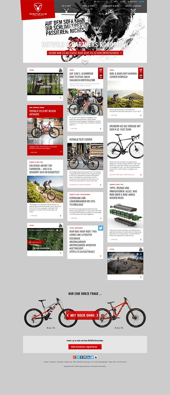 #ShopwareDesign #ShopwareTheme #ShopwareShop, #eCommerce #eCommerceSoftware #eCommerceplatform #Onlineshop #Outdoor #Mountinbikes #Crossbikes