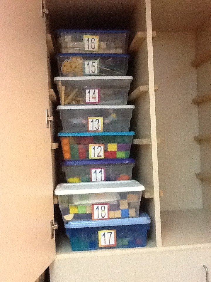 Learning to Grow... Preschool Special Education: Task Boxes --- need to organize like this next year!