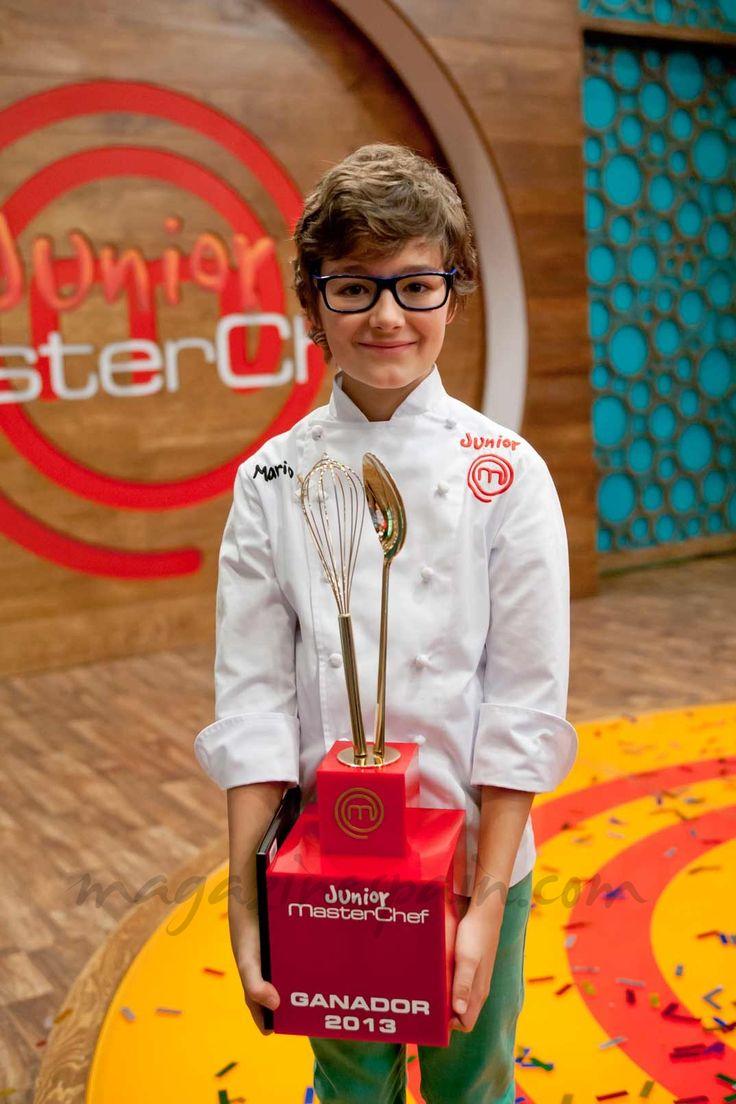 Mario felicidades! Ganador masterchef junior!!!!!!!