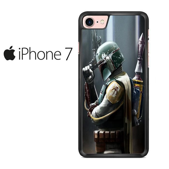 Boba Fett Actor Star Wars Iphone 7 Case