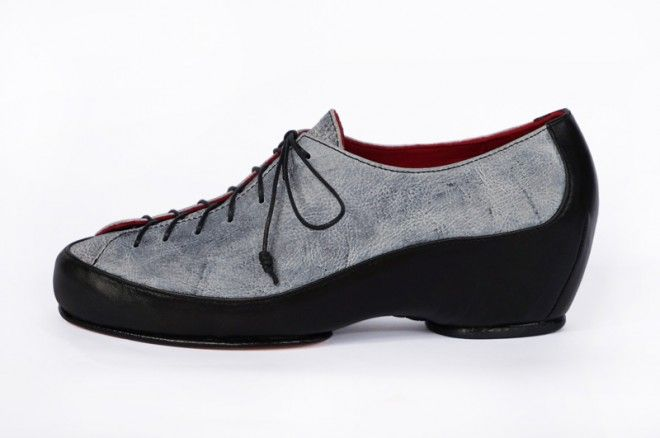 Rock Climber leather lace-up  #prestonzlydesign #ltededition #sportsluxe #androgynous