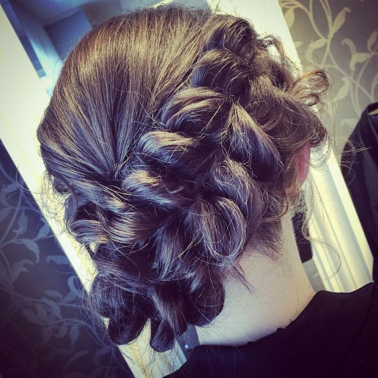 #braid #updo