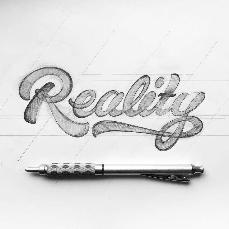 1413 best lettering calligraphy images on pinterest art designs reality sketch by piesbrand altavistaventures Image collections