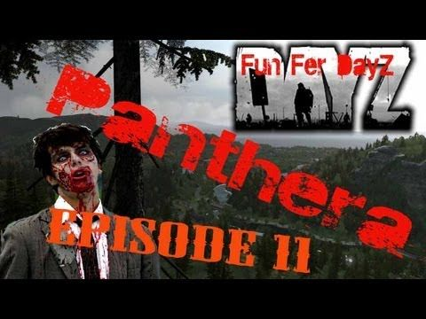 ArmA 2 - DayZ Mod - Panthera - Episode 11 - Fun Fer DayZ - Shot Down a Helicopter with a Lee