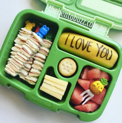 Leuke,lekkere en gezonde idee�n voor je eigen lunch of die van je kinderen. brooddoos idee�n