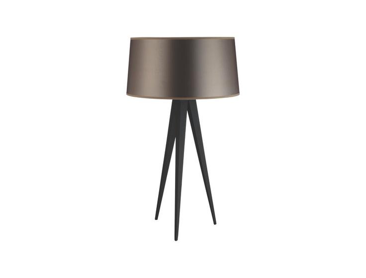 Yves bordlampe i sortlakkert metall. Lampeskjerm kjøpes separat. -20% Før kr. 610,- Nå kr. 488,-