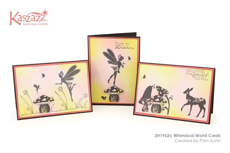 2H1962c Whimsical World Cards