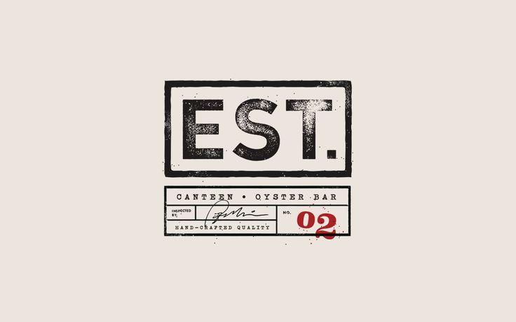 "EST. oyster bar design.  Instead of est but LLC. Below it ""kitchen (dot) bar"