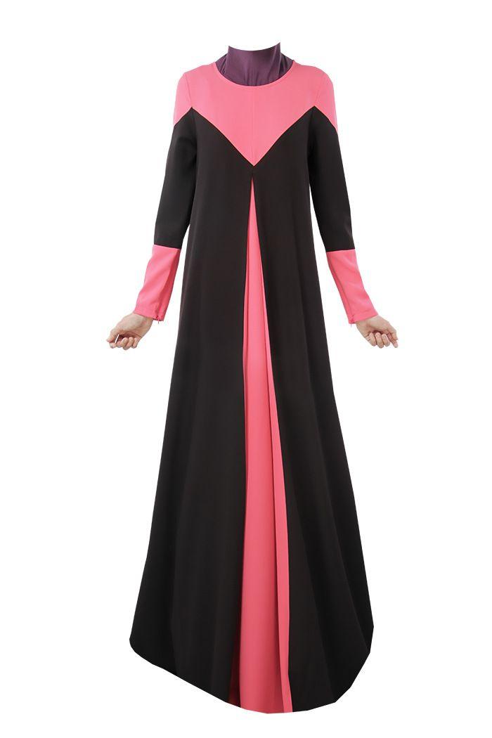 Primavera Abaya gasa mujeres musulmanes visten Abaya islámico del traje musulmane en Ropa islámica de Novedad y de uso especial en AliExpress.com | Alibaba Group