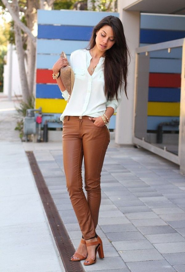Leather Pants Outfits Ideas (23)